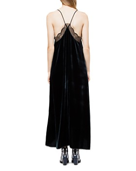 Zadig & Voltaire - Risty Velour Maxi Dress