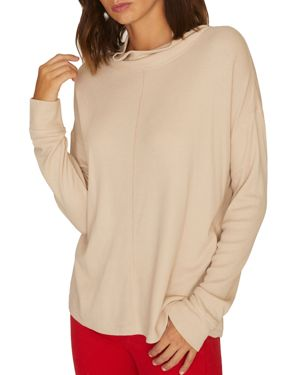 High Road Waffle Knit Tee in Champagne