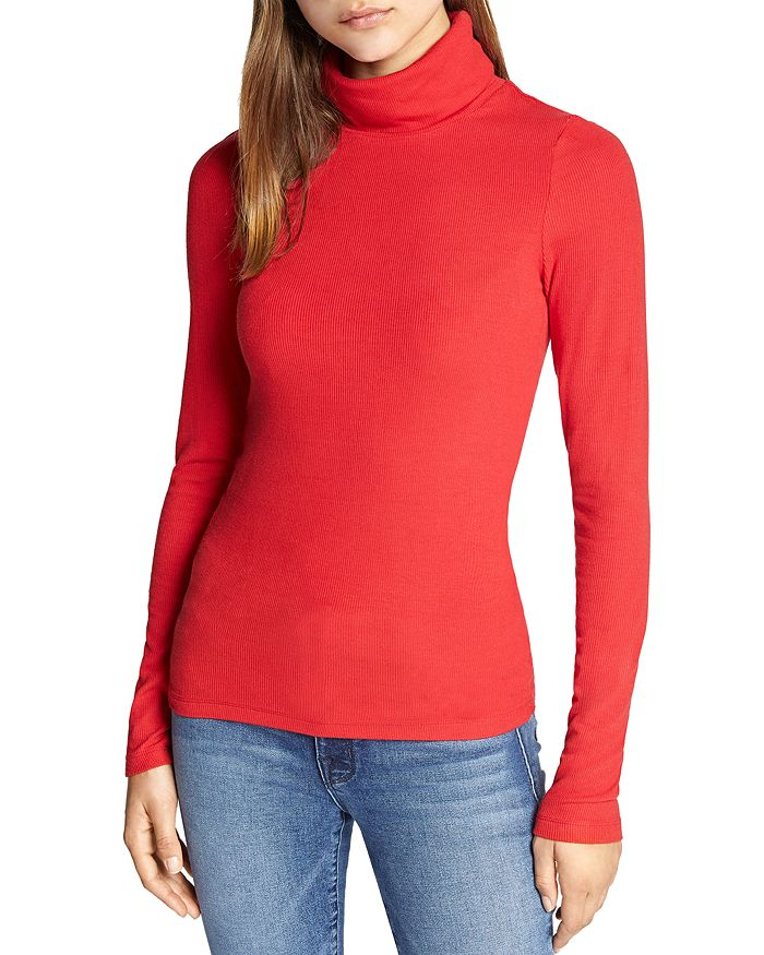 Sanctuary - Ribbed Turtleneck Top