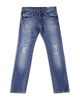 Diesel - Boys' Distressed Slim-Fit Thommer Jeans - Big Kid
