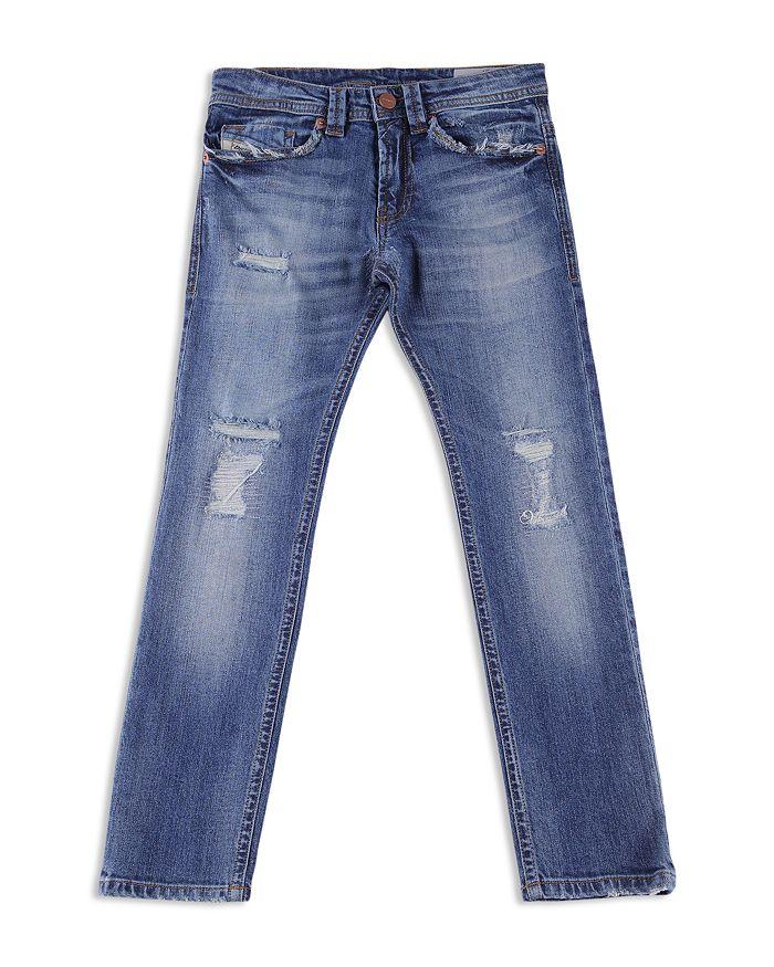 Diesel - Boys' Distressed Slim-Fit Thommer Jeans - Big Kid