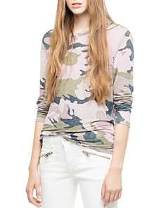 Zadig & Voltaire - Willy Lin Camo Tee