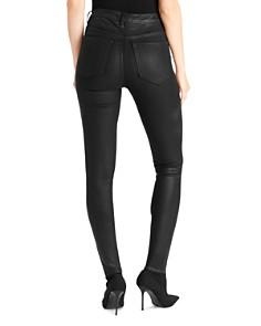 Ella Moss - Super-Sleek Coated Skinny Ankle Jeans