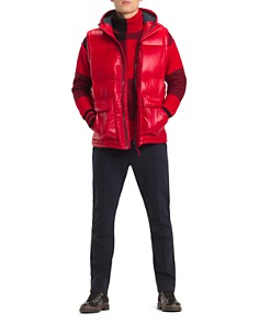 Tommy Hilfiger - Shiny Convertible Down Jacket