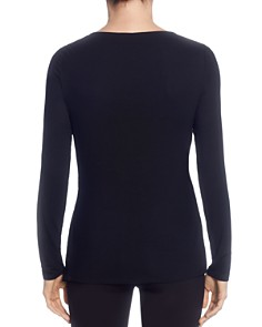 T Tahari - Twist-Front Top