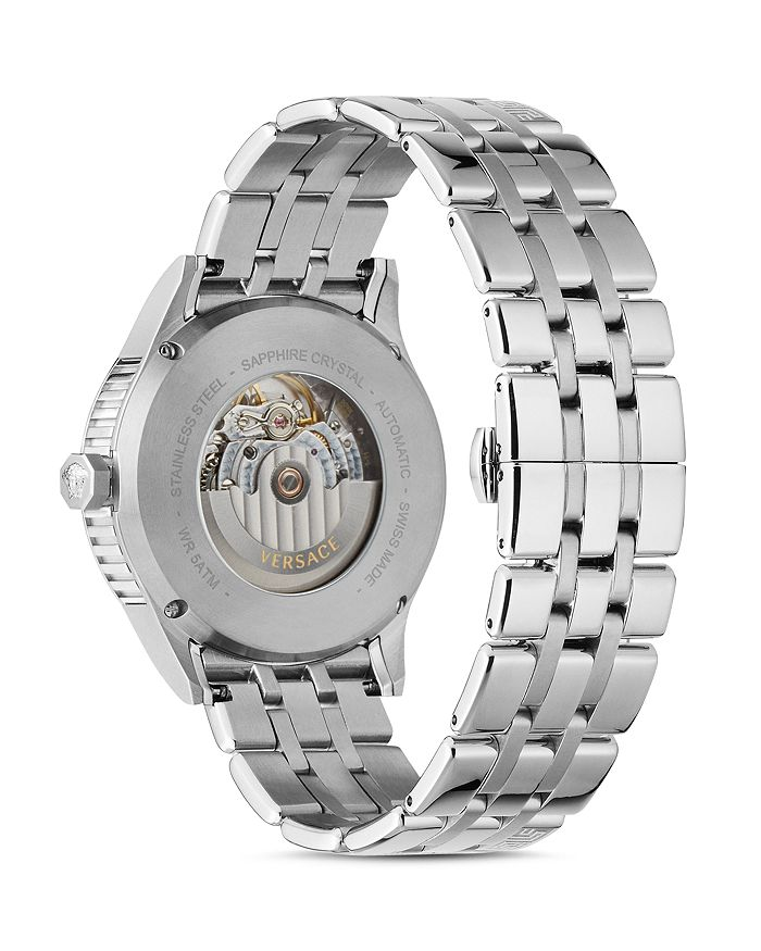 95ee4365e3 Aiakos Stainless Steel Automatic Watch, 44mm