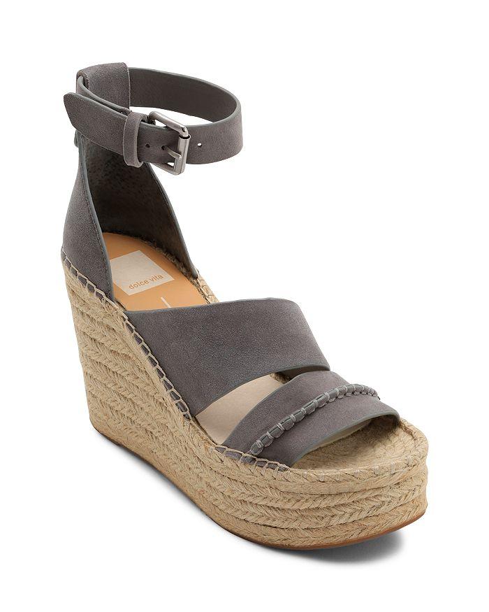 Dolce Vita - Women's Simi Suede Espadrille Wedge Sandals