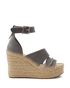 Dolce Vita - Women's Simi Suede Espadrille Wedge Sandals