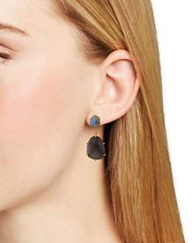 Chan Luu - Stone Drop Earrings in 18K Gold-Plated Sterling Silver or Sterling Silver