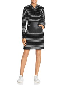 Robert Michaels - Striped Hoodie Dress