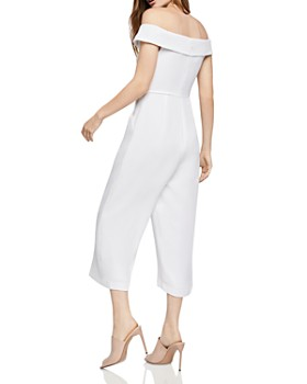 BCBGeneration - Off-the-Shoulder Cropped Jumpsuit