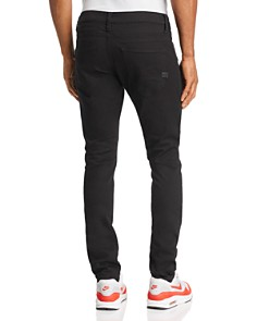 G-STAR RAW - D-Staq Skinny Fit Jeans in Dark Black
