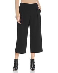 Donna Karan - Cropped Wide Leg Pants