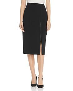 Donna Karan - Zip Slit Pencil Skirt