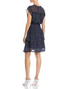 AQUA - Tiered Polka Dot Dress - 100% Exclusive