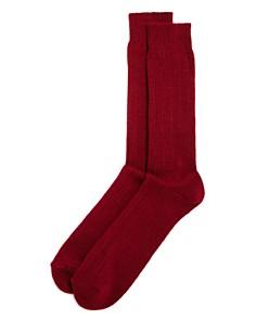 The Men's Store at Bloomingdale's - Ribbed Socks - 100% Exclusive