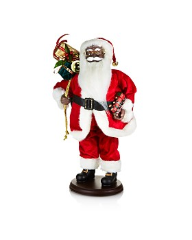 Katherine's Collection - Night Before Christmas Santa, 18""