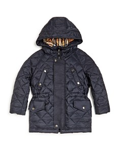 Burberry - Boys' Tyler Hooded Quilted Jacket - Little Kid, Big Kid