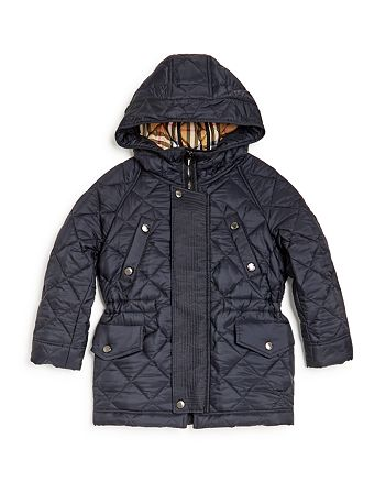 14a47321a3d4 Burberry - Boys  Tyler Hooded Quilted Jacket - Little Kid
