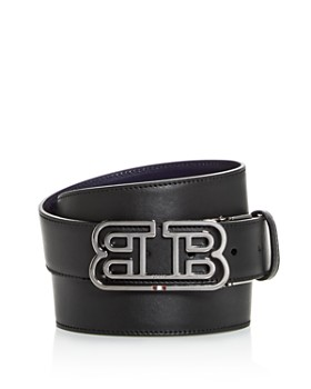 Bally - Men's Bobby Mirror B Buckle Reversible Leather Belt
