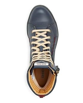 Diesel - Men's Tatradium Valadium Leather Sneaker Boots