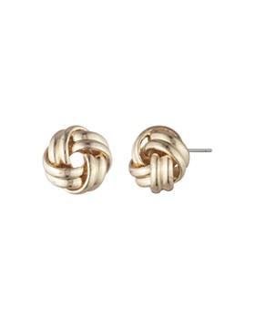 Ralph Lauren Knot Stud Earrings