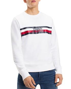 fdccd7aa6 Tommy Hilfiger - Logo-Print Sweatshirt ...