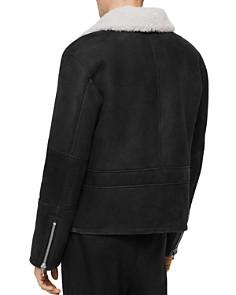 ALLSAINTS - Vaider Washed Shearling Jacket