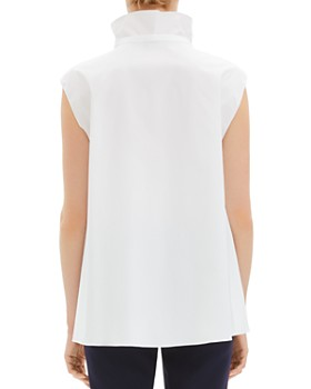 Theory - Funnel-Neck Tie Top