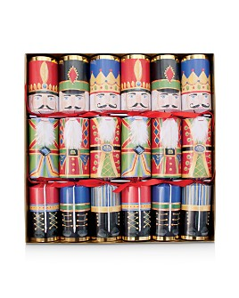 Caspari - Nutcracker Christmas Crackers, Set of 6