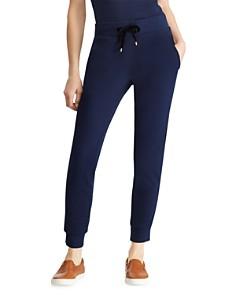 Ralph Lauren - Velvet Trim Jogger Pants