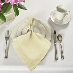 Elrene Home Fashions - Hemstitch Napkins, Set of 24