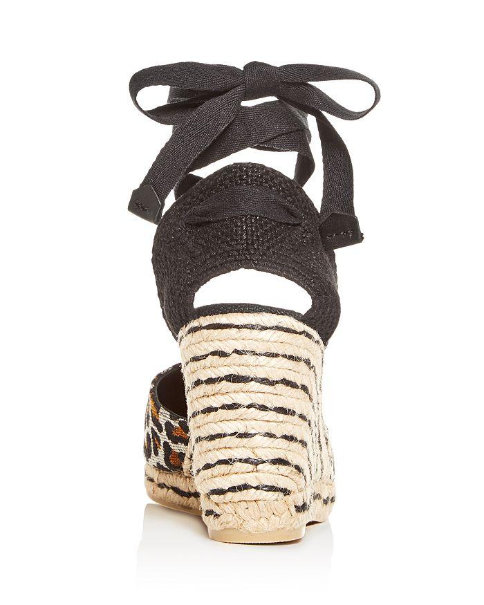 be0bce2e7863 Castañer Women s Carina Ankle-Tie Platform Wedge Espadrille Sandals ...
