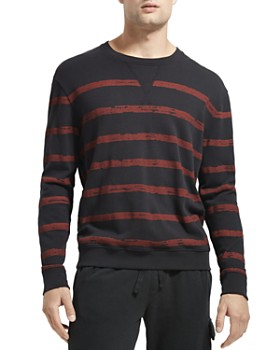 ATM Anthony Thomas Melillo - French Terry Broken-Stripe Sweatshirt
