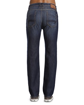 Mavi - Zach Straight Fit Jeans in Dark Maui