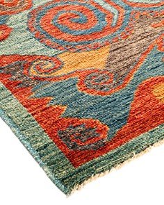 "Solo Rugs - Ababco Kaitag Area Rug, 3' 9"" x 5' 10"""