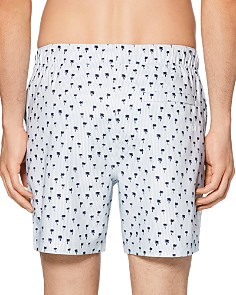 Original Penguin - Palm Tree-Print Swim Trunks