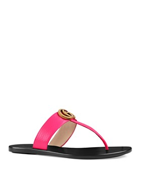 04fd031c68d3 Gucci - Women s Marmont Leather Thong Sandals ...