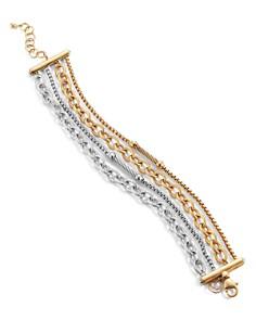 ALOR - Two-Tone Bracelet