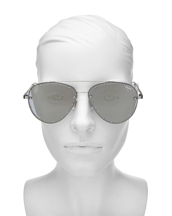 4ef4d61552ac8 Quay Women s Quay x Jaclyn Hill Roxanne Studded Aviator Sunglasses ...