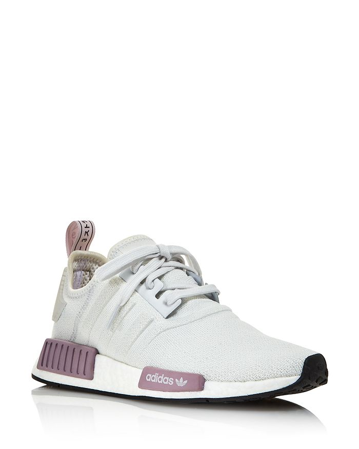 Adidas Originals Women S Nmd R1 Knit Athletic Sneakers In White