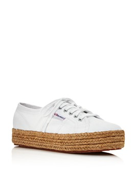 Superga - Women's Cotropew Low-Top Platform Sneakers