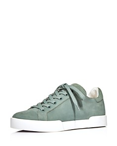 Kenneth Cole - Women's Tyler Leather Lace-Up Sneakers