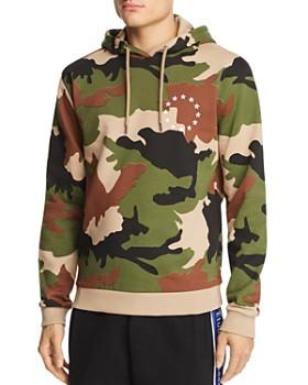 Etudes - Europa Camouflage-Print Hooded Sweatshirt