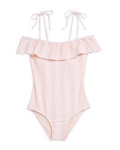 Splendid - Girls' Ruffled Swimsuit - Big Kid