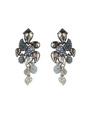 Alexis Bittar Crystal Ombre Paisley Earrings