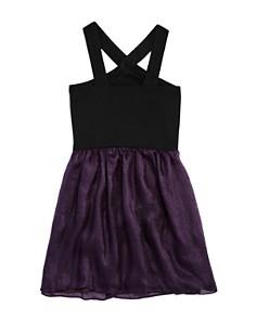 Sally Miller - Girls' Chicago Contrast Chiffon Dress - Big Kid