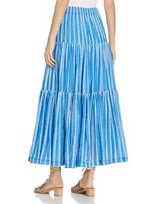 Tory Burch - Embroidered Organza Maxi Skirt