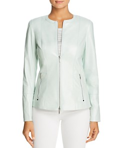 Lafayette 148 New York - Janella Leather Jacket