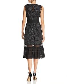 Adelyn Rae - Georgette Polka-Dot Dress